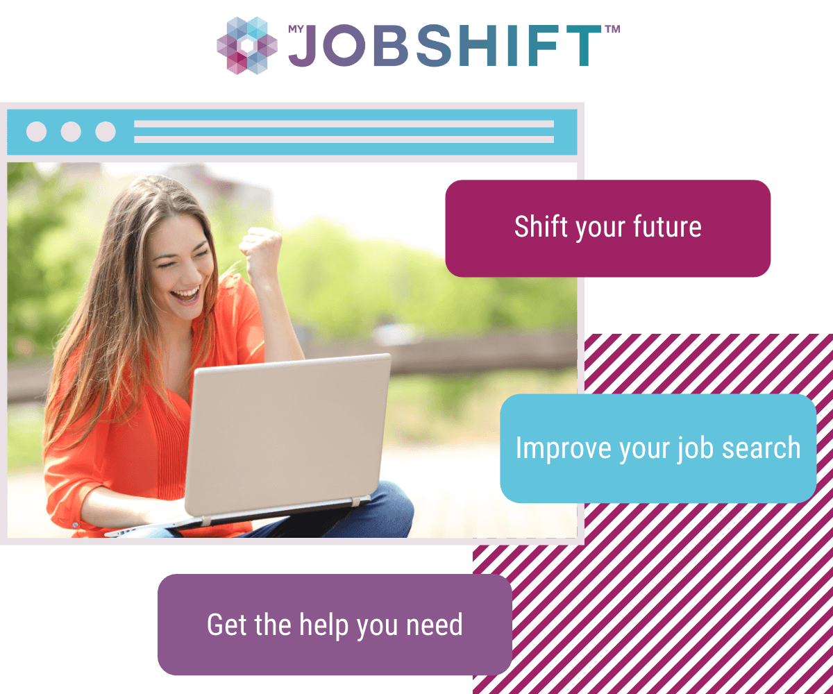 Job seeker shifting their future with jobshift
