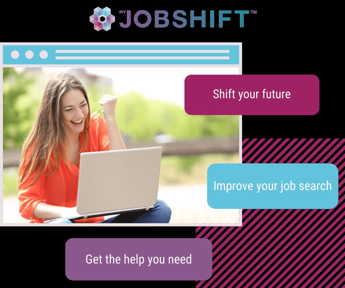 Job seeker shifting their future with jobshift